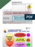 Scuola Dello Sport CONI Puglia - OLISTICO Teoria e Metodologia Attività Motorie e Sportive