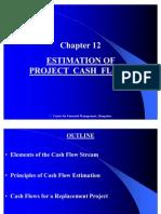 Chapter 12 Estimation of Project Cash Flows