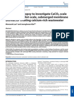 Membrane Autopsy to Investigate CaCO3 Scale