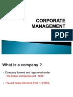 3.Corporate Management