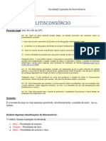 LITISCONSÓRCIO