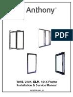 101B 210X ELM 101X Frame Installation Service Manual