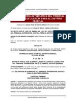 Ley de Justicia Alternativa Del Tsjdf