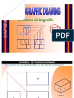 engineering drawing form 4(Orthographic Drawing)