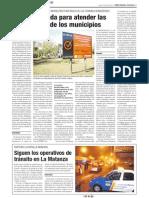 Obras a medida para atender las necesidades de los municipios (Ámbito Financiero)