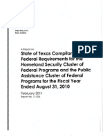 State Administrative Agency Audit