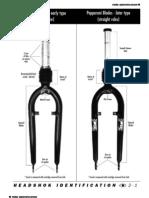 1999 Headshok Older Fork Identification Instructions En