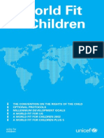 A World Fit for Children