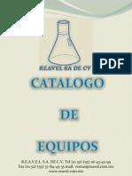 REAVEL catalogo de equipos en español