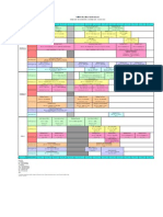 Bsc Archi Timetable 2011 February Intake Updated 10 Mac 2011