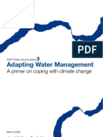Adapting Water Management A primer on coping with climate change