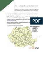 Harta Judetelor Care Au Saracit Ori S-Au Imbogatit