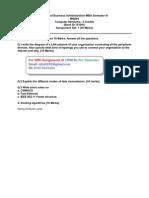 MI0026 Assignment