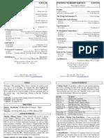 Cedar Bulletin Page - 06-12-11