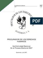 Analisis Conflictividad Electoral_2007