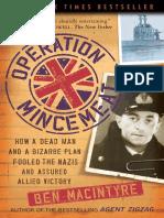 Operation Mincemeat by Ben Macintyre - Excerpt