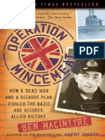 Operation Mincemeat by Ben Macintyre - Excerpt