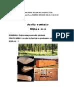 Fabric Area Produselor Din Lemn x Panouri Stratificate Si Agl