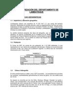 Lambayeque-Caracterizacion