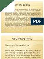 Uso Industrial Del Agua