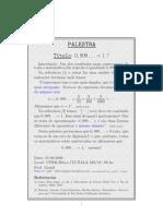 Palestrateoria Dos Numeros