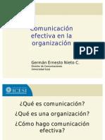 Comunicacion Efectiva German Nieto