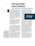 Money Management How When to Save Money