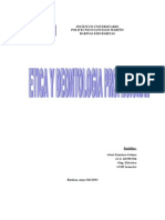 Etica y Deontologia Profesional..