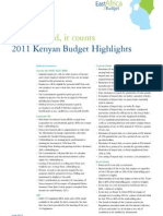 ea 2011-2012 budgets highlights