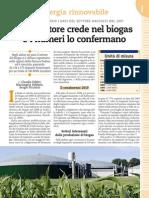 Biogas Al 2010 in Pianura Padana