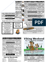 Viking Weekend 2011 Activity List Yogi Bear's Jellystone Park, Van Buren MO