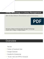 Using Technology in Library Management Part 2