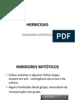 HERBICIDAS acao