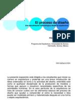 El proceso de diseño. Una aproximación metodológica desde la arquitectura (Alejandro Duarte 2009)