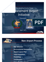 Airport Replacement Update 2011
