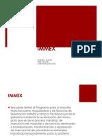 PresentaciónIMMEX