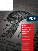 Nine Consumer Trends for India in 2009