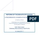 Reform of the Senate of Canada