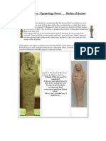 Ancient History – Egyptology Notes  Radan al Qasimi