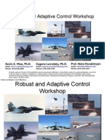 Workshop] Robust and Adaptive Part 1