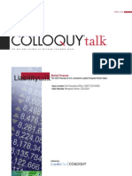 COLLOQUY - The 2011 Forecast of U.S. Consumer Loyalty Program Points Value