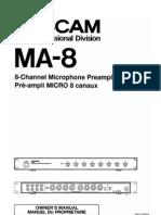 Tascam MA-8