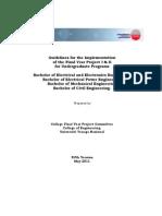 FYP Guidelines V5 2011