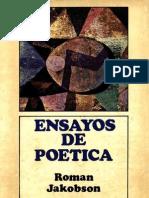 Jakobson - Ensayos de Poetica