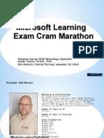 Exam Cram70642 Final