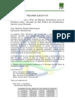 Resumen Ejecutivo Piladora Leon