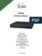 QC444 Manual