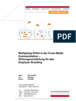 Multiplyingeffekt Cross Media Als Wirkung