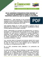 Plan Agricola Orinoquia MADR