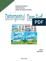Analiza Merceologica a Detergentului Dero Surf